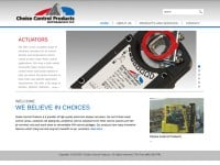 Choice Control Products Website