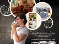 'Inspirations' Consumer Ad for DRYLOK Waterproofer as seen in This Old House and Family Handy Magazines