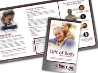 IIAM Gift Of Body Brochure