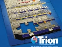 'Merchandising Solutions' Trade Ad for Trion Industries