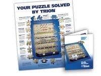 8-Page 'Puzzle Solved' Trade Magazine Insert for Trion Industries