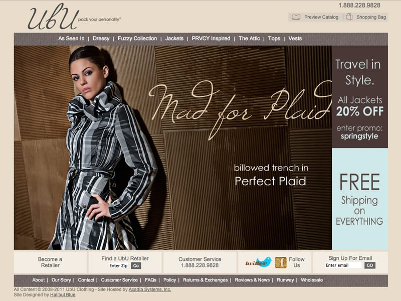 Design Clothing Websites Website Design Halibut