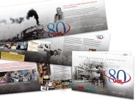16-Page UGL Corporate Anniversary Brochure