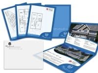 Waypoint Luxury Townhomes Direct Mail Sales Kit