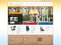 Golden Technologies CMS Website (2011)