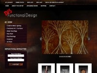 Disfunctional Design eCommerce Website