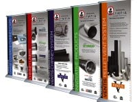 Trade Show Banners for Olympia Chimney Supply