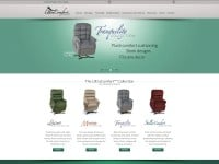 UltraComfort Designer Power Lift Recliners CMS Website