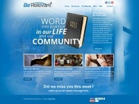 Be Relevant Ministries CMS Website