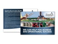 Direct Mail Postcard for Zwiebel EHS for Energy