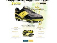 Larcia Sports CMS Website